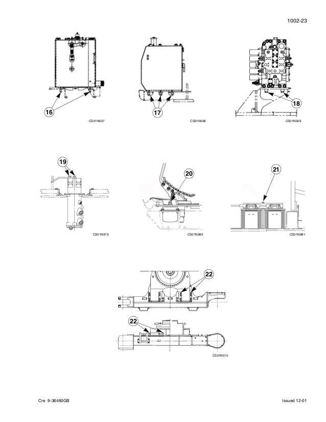 Case cx460 crawler excavator service repair manual