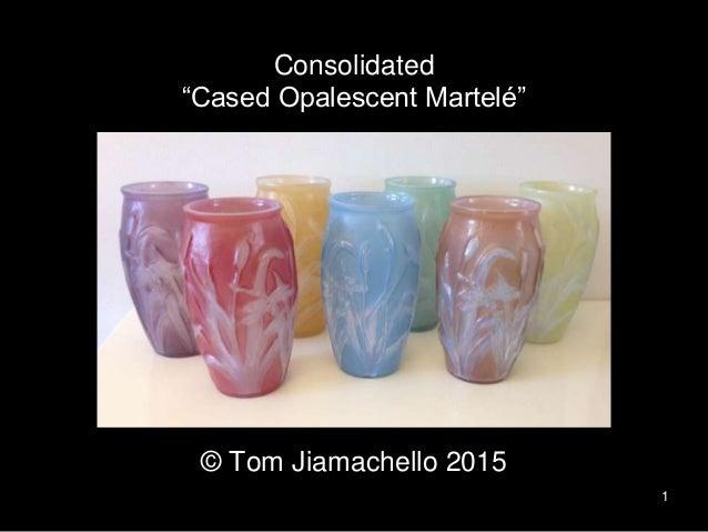 "Phoenix Reuben-Line 1 Consolidated ""Cased Opalescent Martelé"" © Tom Jiamachello 2015"