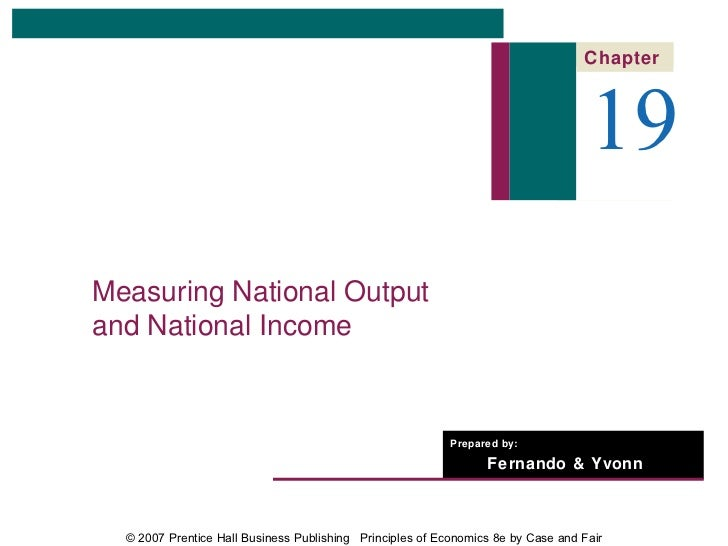 Chapter                                                                                   19Measuring National Outputand N...
