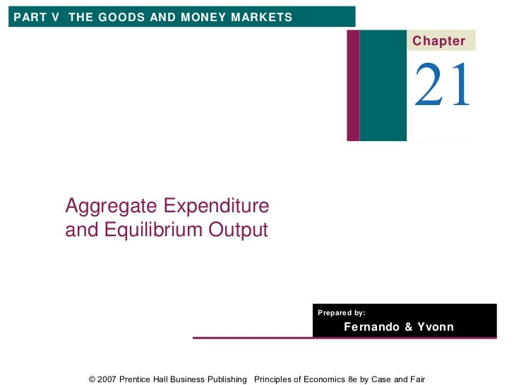 PART V THE GOODS AND MONEY MARKETS                                                                                        ...