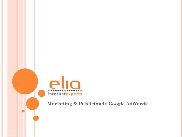 Marketing & Publicidade Google AdWords