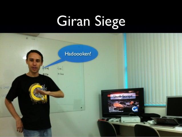 Mantendo o Pique Giran Siege Rails Rumble Giran Labs Ambiente descontraído
