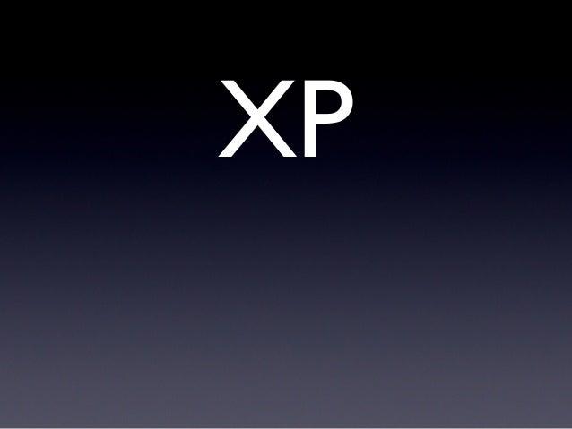 Por que XP e SCRUM?