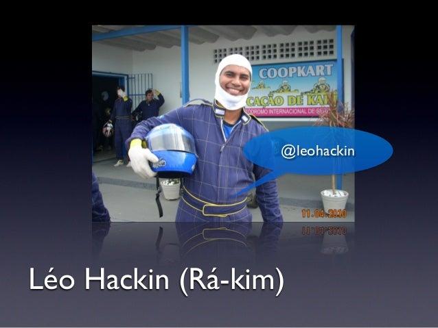 Léo Hackin (Rá-kim) @leohackin