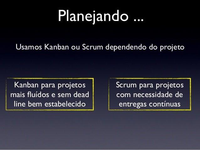Kanban e Scrum devem ajudar e não ser apenas mais um processo