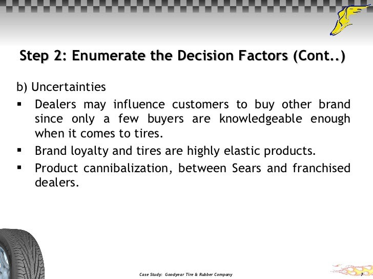 Goodyear tire and rubber company - SlideShare