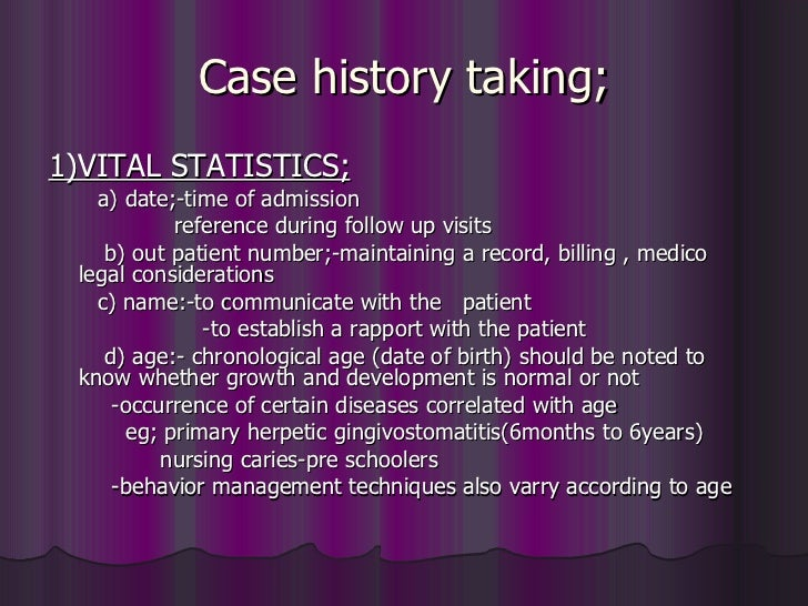 taking history History taking – overview free medical revision on history taking skills for  medical student exams, finals, osces and mrcp paces.