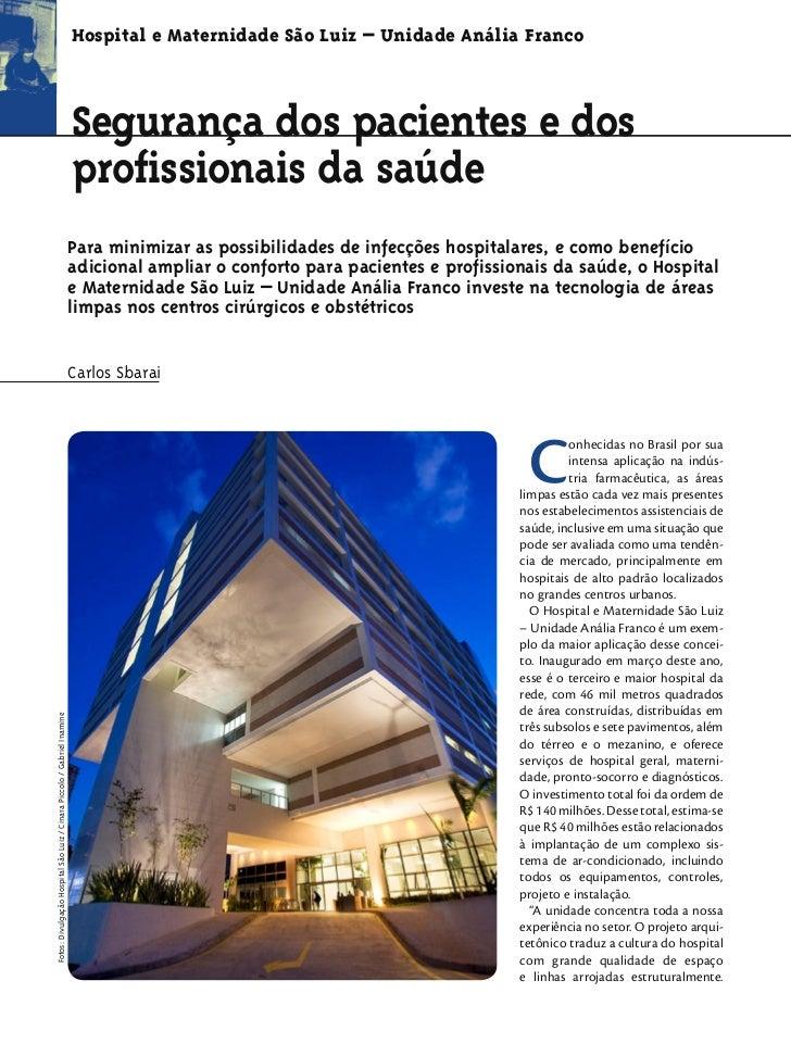 Hospital e Maternidade São Luiz – Unidade Anália Franco                                                                   ...