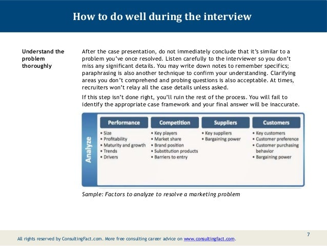 case study interview presentation template