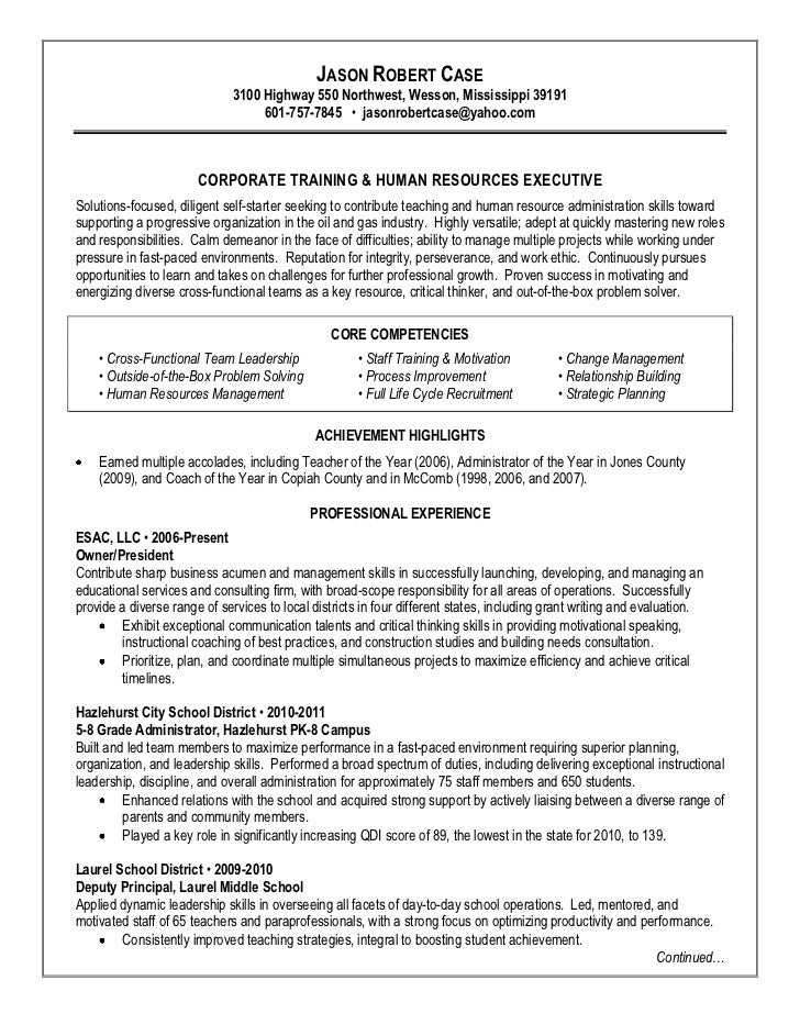 Case Jason Resume Jobfox