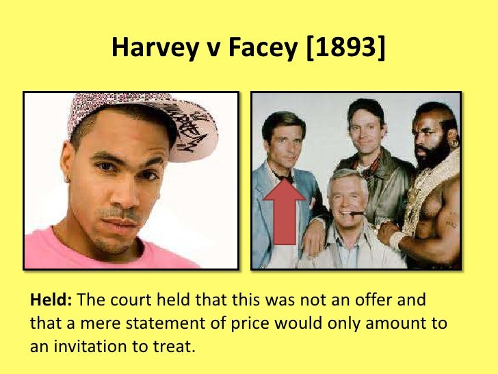 harvey v facey Facey was born in maidstone, victoria, the son of joseph facey and mary ann facey, née carrhis father died on the goldfields of western australia in 1896 of typhoid fever, when albert was two years old in 1898, albert's mother departed for western australia to care for her older children, who had.