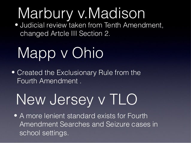 the fourth amendment new jersey vs Summary of new jersey v tlo citation: 469 us 325 (1985) justice brennan agreed that school officials were subject to the fourth amendment.