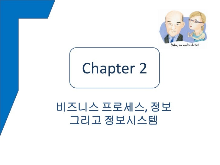 Chapter22  Chapter비즈니스 프로세스, 정보 그리고 정보시스템