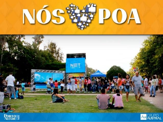 O QUE A NET QUERIA?O QUE A NET QUERIA?Para comemorar os 240 anos de Porto Alegre, aNET queria marcar presença e se conecta...