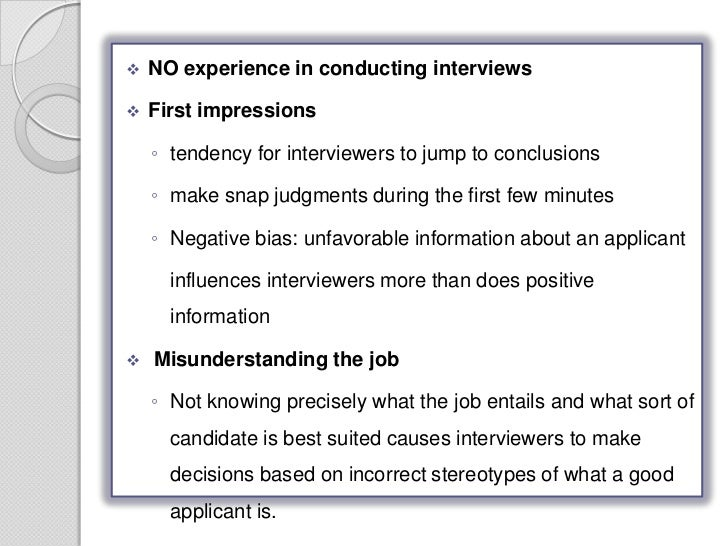 selection decision based on first impression in recruitment First impressions count  & petty, k n (2011) the influence of handshakes on first impression accuracy  personality judgments based on physical appearance.