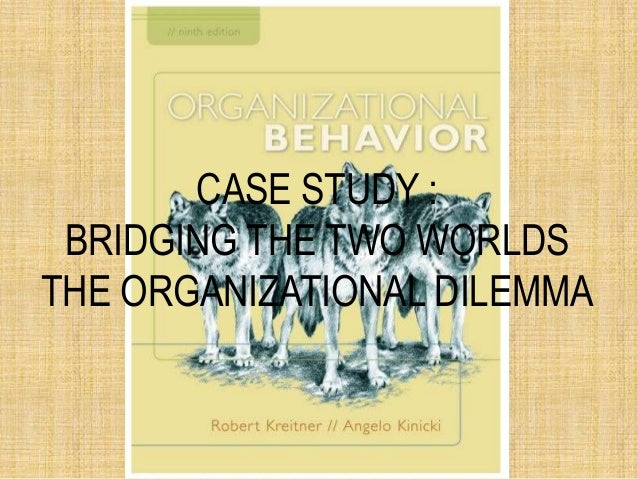 bridging the two worlds the organizational dilemma case study Essay on bridging the two worlds case study bridging the two worlds— the organizational dilemma by william todorovic, indiana-purdue university, fort wayne i.