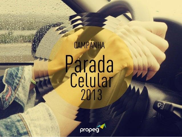 CAMPANHA  Parada  Celular  2013