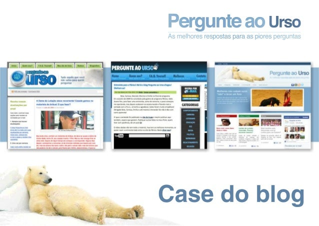 Case do blog Pergunte ao Urso