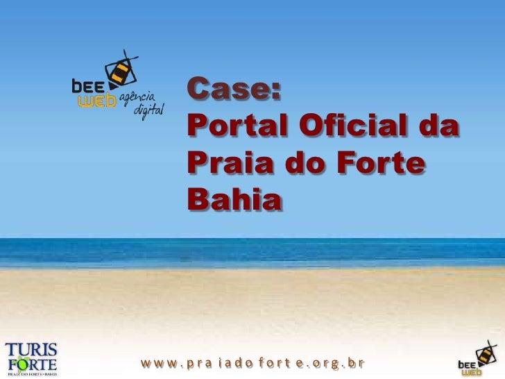 Case:Portal Oficial daPraia do ForteBahia<br />