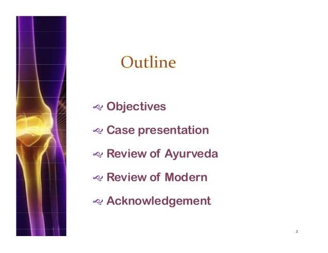 Clinical Presentation on Rheumatoid Arthritis (Amavata) Slide 2
