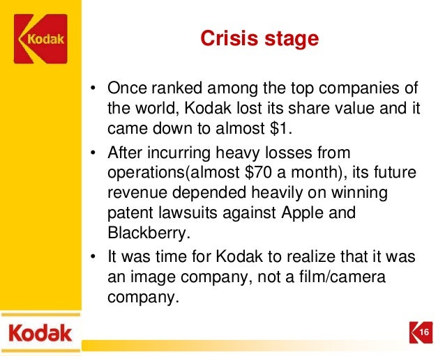 eastman kodak meeting the digital January 2004 marked the beginning of dan carp's fifth year as eastman kodak inc's chief executive officer by late february, it was looking as though 2004 would.