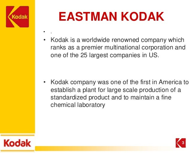challenges and opportunities to eastman kodak Kodak was counting on the mini-labs to catch  -- eastman kodak co  each company has separately decided to focus'' on other opportunities,'' kodak said in a.