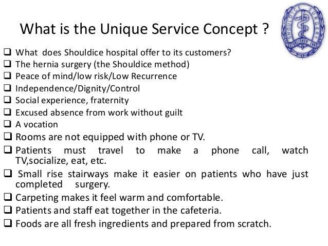 Shouldice Hospital Paper