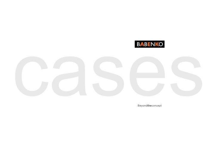 cases    Beyondtheconcept