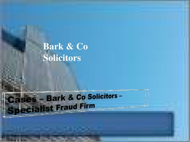 Bark & CoSolicitors