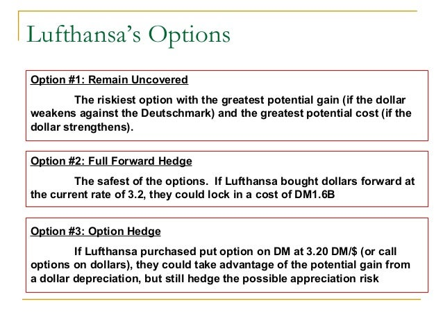 Lufthansa: To Hedge or Not to Hedge . . . Case Solution & Answer