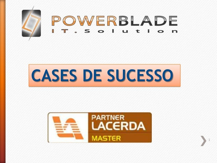 1<br />CASES DE SUCESSO<br />