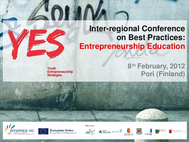 Inter-regional Conference                                               on Best Practices:                                ...