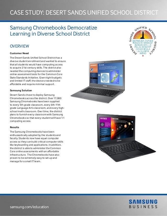 Case Study Desert Sands Unified School District