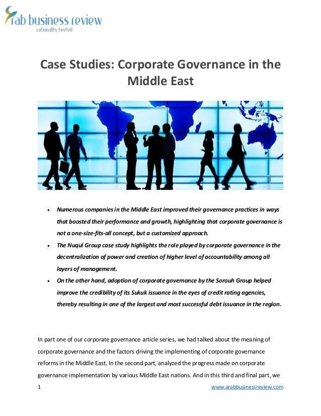 Business Ethics Case Studies, Corporate Governance Case Study, Management, MBA Case Studies