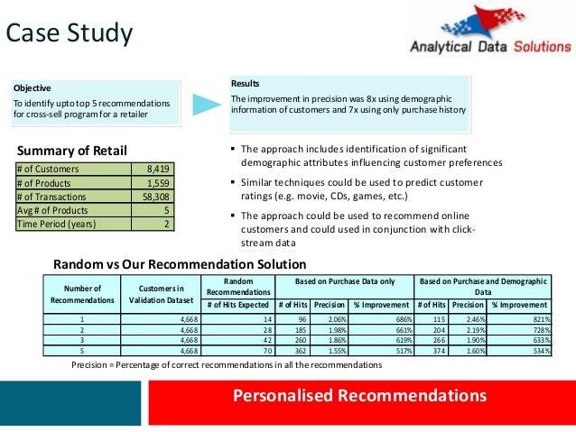case studies in marketing analytics