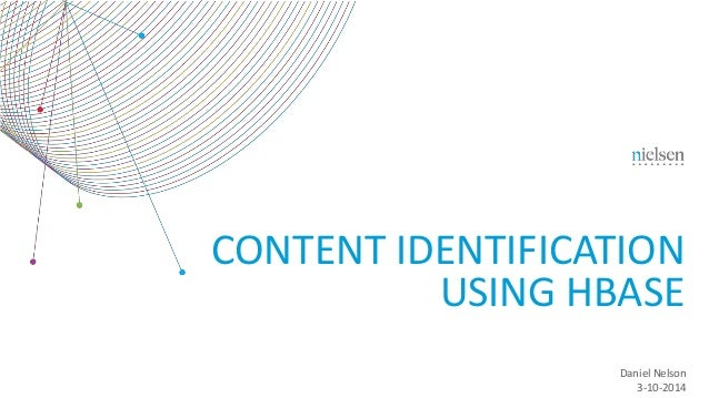 CONTENT IDENTIFICATION USING HBASE Daniel Nelson 3-10-2014