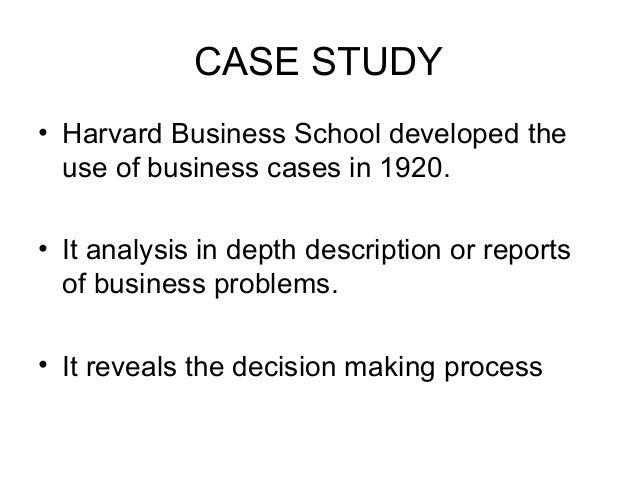 case study harvard Case study: performance management and lean process improvement - results washington, an operational excellence innovation at harvard kennedy school received.