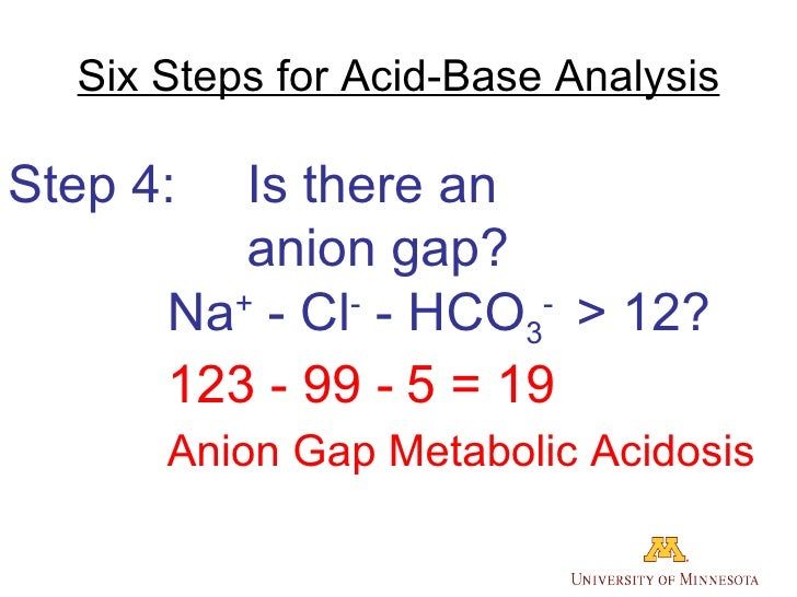 acid base case study (1) - Running head ACID-BASE CASE ...