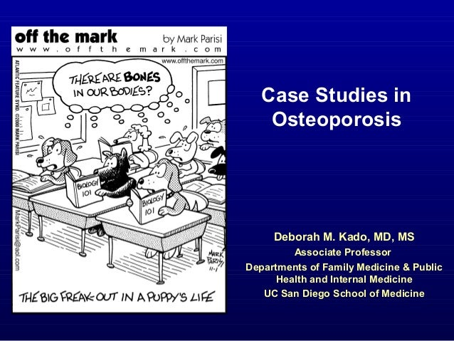 Research papers on osteoporosis