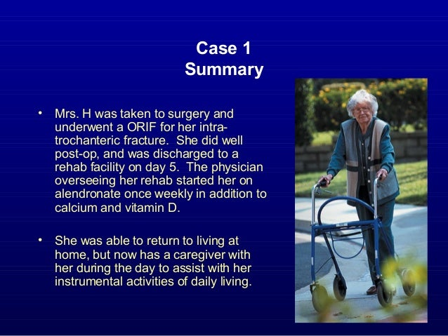 osteoporosis case study Age 49 bone medications – no trained twice a week for 12 months results julie a had an increase the lumbar spine (ls) by 39% and a slight decrease in the femoral neck (fn) functional outcomes julie increased her functional reach by 526%, and her mobility by 1771% measured via the timed up and go.