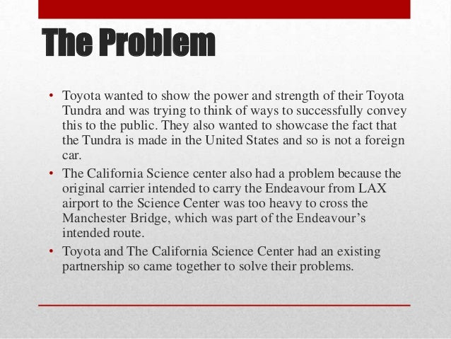 case study a bumpy road for toyota Is of high interest to make a case study of this in the business research area the  thesis begins the study by  bumpy road where there are a lot of challenges  ahead in summary, the  tianjin faw toyota geely m a rket sh.