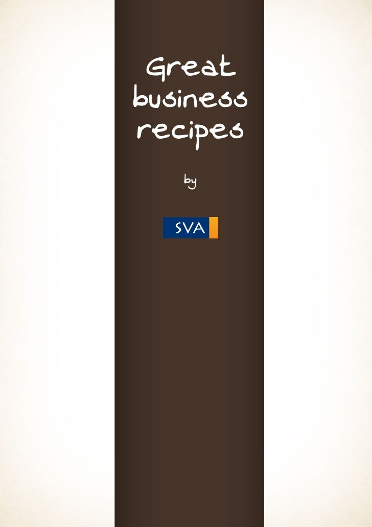 Greatbusinessrecipes   by