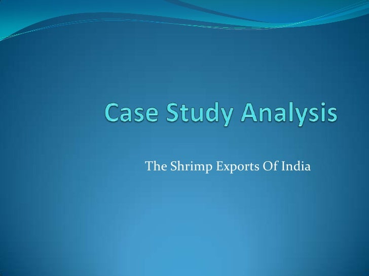 The Shrimp Exports Of India