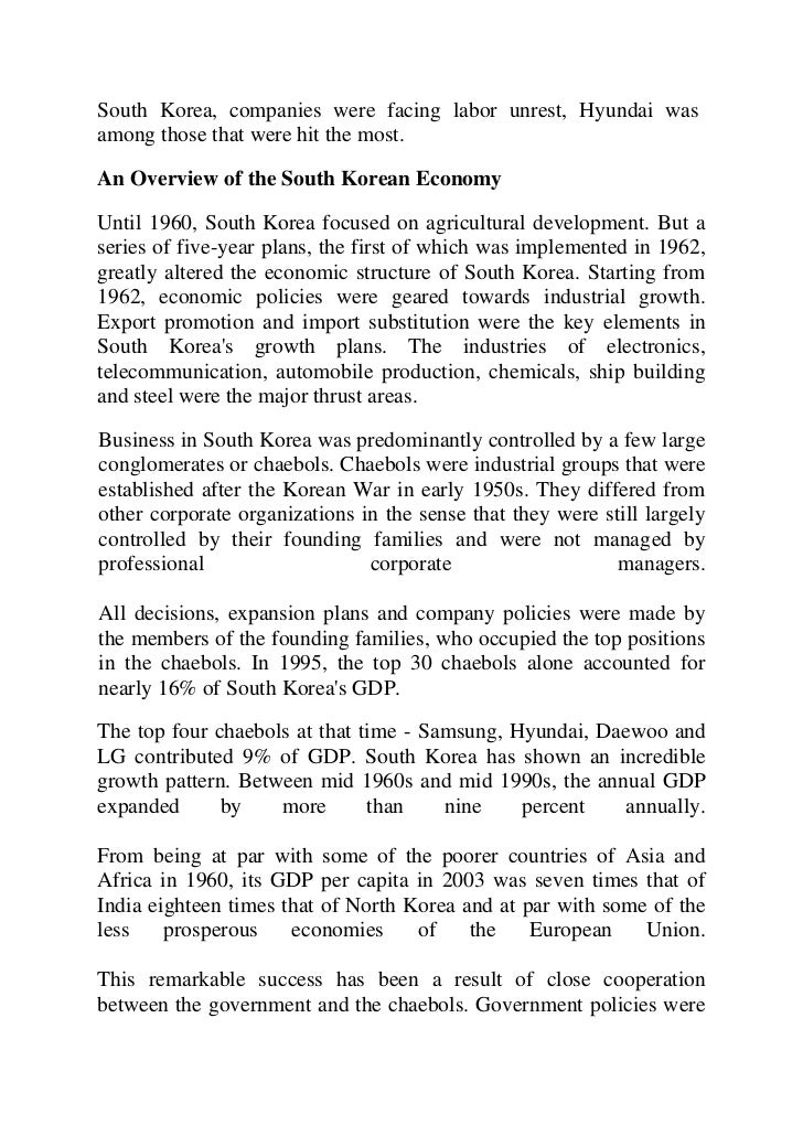 case study of hyundai motor company Hyundai motor company was later established in 1967 the company's first model, the cortina, was released in cooperation with ford motor company in 1968 when hyundai wanted to develop their own car, they hired george turnbull, the former managing director of austin morris at british leyland.