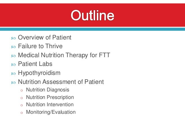 Failure to Thrive: A Case Study Slide 2