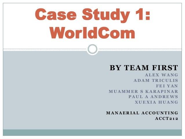 worldcom case