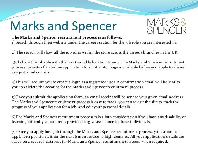marks and spencer aims and objectives essay Derek leiper economic effect on marks & spencer plc since  economic: economics and spencer plc essay  aims, objectives 3 task 1 4-8 task 2 9.