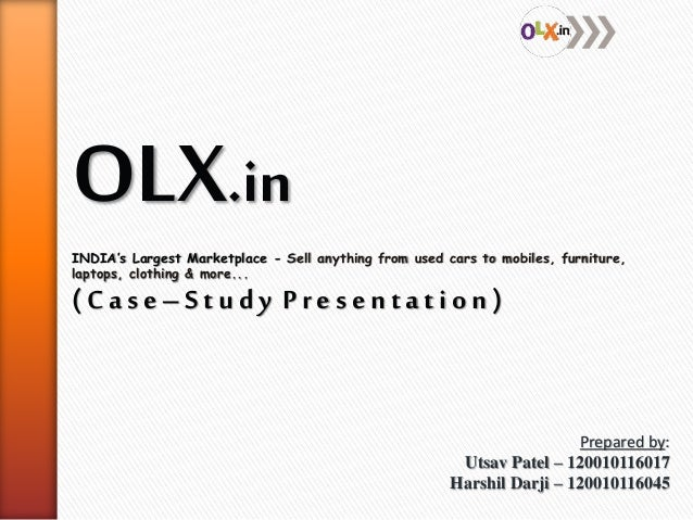 OLX.in INDIA's Largest Marketplace - Sell anything from used cars to mobiles, furniture, laptops, clothing & more... ( C a...