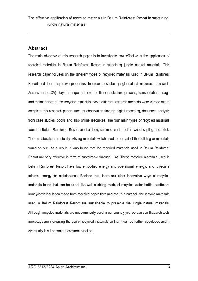 format writing research paper conclusion science