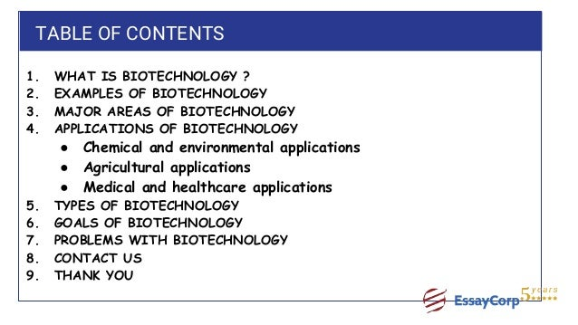 unit 15 application of biotechnology assignment